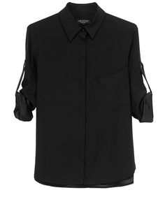 rag & bone Official Store, Boyd Shirt, black fl, Womens : Ready to Wear : Tops & Shirts : Button, W234A077D