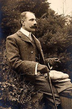 English composer Sir Edward Elgar, circa 1900