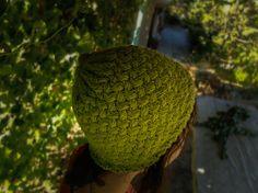 Green Crochet Hat Winter Hat Green Hat Women Beanie by OCcreation