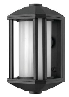 """Hinkley Lighting 1396 11.5"""" Height 1 Light Lantern Outdoor Wall Sconce from the Black Outdoor Lighting Wall Sconces Outdoor Wall Sconces"""