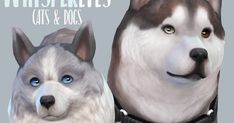WHISPER EYES - PETS Default Replacements Removed specular Please don't re-upload anywhere as your own :) Also pleas...