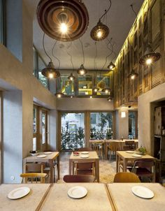 Cafe Interior Designs With Cabin Eclectic In Central Athens By K Studio. Interior  Cafe