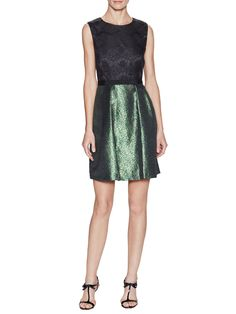 Alice Metallic Lace Dress by ERIN erin fetherston at Gilt