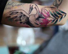 Boda tattoo swan tattoo