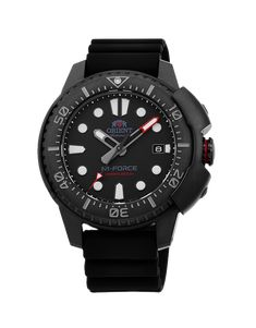 Orient M-Force AC0L Diver Watch | RA-AC0L03B00B RA-AC0L03B | Orient Watch USA Durable Watches, Orient Watch, Stainless Steel Case, Cool Watches, Fashion Watches, Engineering, Usa, Technology, U.s. States
