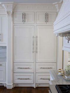Sub-Zero cabinet front refrigerators...