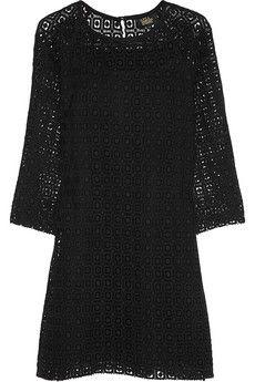 A.P.C. Atelier de Production et de Création + Vanessa Seward Joan crocheted cotton mini dress | NET-A-PORTER