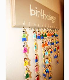 Family Birthday Chart: A Cute and Functional DIY Project