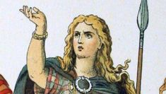 Queen Boudica, William Wallace, Celtic Warriors, Bright Red Hair, Warrior Queen, Weird Stories, Crazy Life, Life And Death, France
