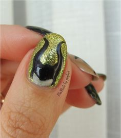 PinNails: Maleficent Nails / Uñas Maléfica