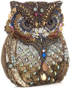 Oscar The Embellished Owl Bag #bags #accessorize #jewels