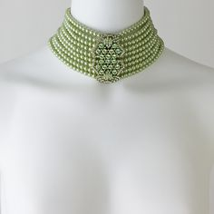 """""""Halting Glamour"""" Choker Necklace    -I could soooo rock this."""