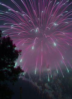 Fireworks in Glouscester MA