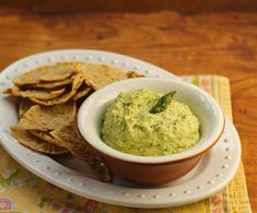 Roasted asparagus hummus, on The Perfect Pantry.