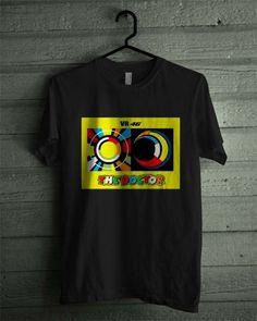Valentino Rossi VR46 The Doctor MotoGP Sun&Moon T-Shirt All Size   Dalmanaz - Clothing on ArtFire