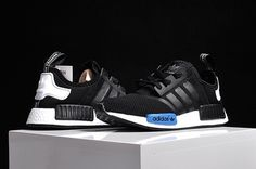 Adidas Originals NMD R1 PK Black Blue White Shoes [adidasnmd-056] - $56.95 : | nikeshoes | Scoop.it