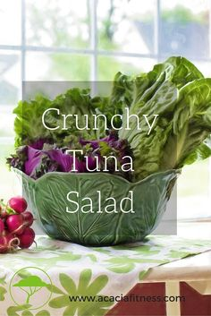 Crunchy Tuna Salad!!