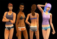 Underwear Separates - Ilikeotplaygod's Boy Undies for AFI love the mix and match potential of underwear separates, so I've decided to work my way through all of the underwear I use most frequently in my game, one small set at a time. First up are ilikeotplaygod's boy undies without socks. These are for adult female, and are repositoried to the original files. A texture file is included (delete it if you have the originals, keep it if you don't). Categorized as underwear only. Mesh by Skell…