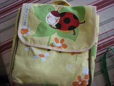tuto en photos pour réaliser un sac à dos pour la crèche ou la maternelle