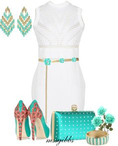 """""""Spring Dressing"""" by mssgibbs ❤ liked on Polyvore"""