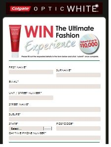 Win The Ultimate Fashion Experience