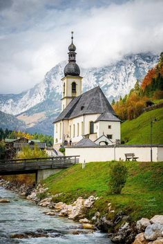 When in Europe.travel this beautiful country side. Ramsau, Germany (by tsomchat) Places Around The World, Oh The Places You'll Go, Places To Travel, Places To Visit, Around The Worlds, Travel Destinations, Berchtesgaden Germany, Beautiful Buildings, Beautiful Places