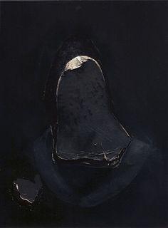 Nicola Samorì  | Lamina | 2010 | Oil on wood | 40x30cm