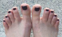 Cute Toes, Pretty Toes, Summer Toe Nails, Beautiful Toes, Foot Toe, Female Feet, Pedicures, Jewlery, Selfie