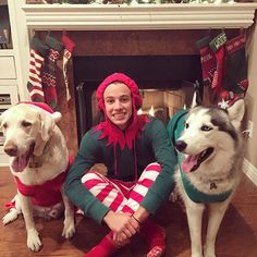 December hasn't even started yet and... you could say we're ready @CameronDaIlas can't wait till magcon tho that's my #1 Christmas gift....