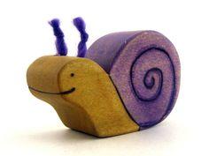 snail spring summer