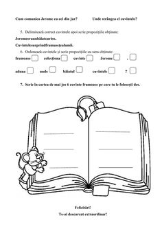 CLR 1 - Evaluare finala worksheet School Subjects, Your Teacher, Web Browser, Google Classroom, Colorful Backgrounds, Worksheets, David, Student, Literacy Centers