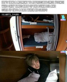 U on top bink me in bottom bunk. XD