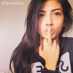 """A naughty natural beauty  | #ZařeBeauty : @sabrinaa.in @ZareBeauty | #DaretoZaře | #glow #beauty #skin #skincare #healthy #natural #nomakeup #photooftheday #lips #kiss #nomakeupselfie #eyes #smile #pretty #DareToZare #daretobare #nofilter #selfie #hair #honest #love #beautiful #girl #amazing"" Photo taken by @zarebeauty on Instagram, pinned via the InstaPin iOS App! http://www.instapinapp.com (01/17/2015)"