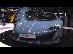 #Geneva 2015 A-Z : M for #McLaren and #Mustang #Ford