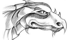 dragon pencil drawings easy drawing head sketches graffiti science