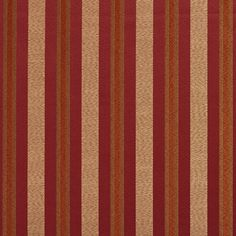 The K6738 BRANDY/REGAL upholstery fabric by KOVI Fabrics features Stripe pattern and Beige or Tan or Taupe, Burgundy or Red or Rust, Coral or Orange or Persimmon, Gold or Yellow as its colors. It is a Damask or Jacquard type of upholstery fabric and it is made of 100% Woven polyester material. It is rated Exceeds 24,000 Double Rubs (Heavy Duty) which makes this upholstery fabric ideal for residential, commercial and hospitality upholstery projects. For help Call 800-8603105.