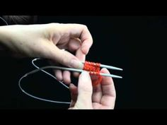 How to Knit Toe Up Socks using Magic Loop Part 1 Knit the Toe