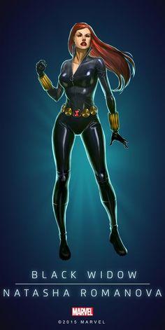 "Marvel Comics: Black Widow ""Natasha Romanova"""