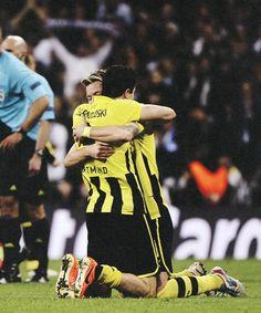 Robert Lewandowski & Marco Reus asdfghjkl too much for one pic, thanks