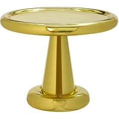 Tom Dixon Spun Short Side Table ($1,685) ❤ liked on Polyvore featuring home, furniture, tables, accent tables, gold, tom dixon side table, tom dixon table, mirrored end table, mirrored accent table and tom dixon