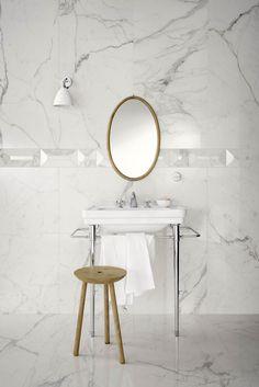 Allmarble, a sophisticated interpretation of fine marbles. | Marazzi Tiles