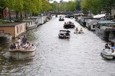 Summer on the Amsterdam canals