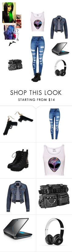 """""""Brooke Jones"""" by septicplier-mangle ❤ liked on Polyvore featuring Bibi, Killstar, WithChic, maurices and Beats by Dr. Dre"""