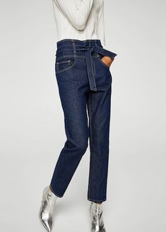 Belt organic cotton jeans Leandra Medine, Mango Presents, Coton Biologique,  Organic Cotton, 15119deb94