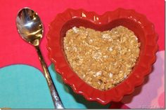 Protein Cookie Dough via @Stuftmama - serve it like she did in a heart shaped bowl for a healthy Valentine's Day treat!