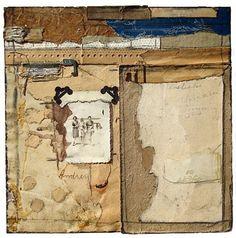 I LOVE this artist's work. Art journal inspiration - collage work. Artist: Crystal Neubauer