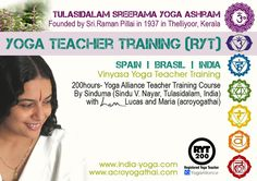 vinyasa teacher training courses by Sindu with the colavoration of L&M. 200h. Certified by Yoga Alliance International.
