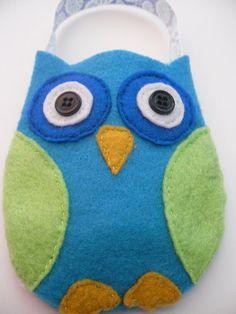Owl Party Favor Bag