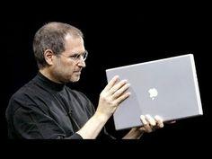"Steve Jobs introduces 12""-17"" PowerBooks, iLife & Safari - Macworld SF (2003)"