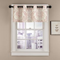 Features:  -Style: Modern.  -Elegant and sophisticated.  -Dry clean.  -Made in the USA.  Product Type: -Curtain valance.  Material: -Linen.  Country of Manufacture: -United States. Dimensions:  Overal
